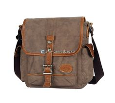Canvas Shoulder Bags Mens Messenger Bags