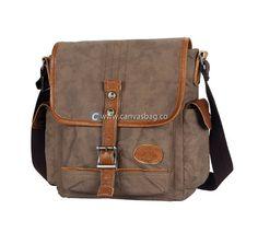 Canvas Shoulder Bags Mens Messenger Bags