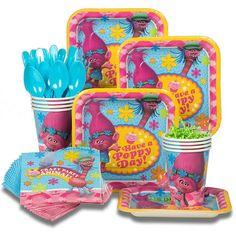 Trolls Birthday Party Ideas and Themed Supplies | Birthday Buzzin