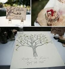Love the thumbprint tree. by helene Thumbprint Tree, Tree Sketches, Guest Book Tree, Stylish Couple, How To Make Paint, Guest Book Alternatives, Wedding Blog, Wedding Things, Wedding Ideas