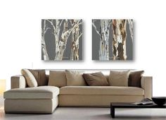 VERY LARGE Wall Art Print tree Art Rolled canvas soft by KatShoa