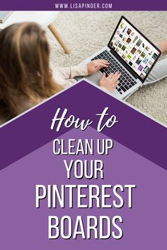 Computer Basics, Computer Help, Pinterest Tutorial, Technology Hacks, Pinterest For Business, Thing 1, Diy Cleaning Products, Clean Up, Pinterest Marketing