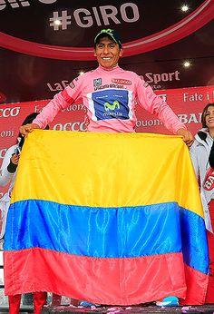 Nairo Quintana, cerca de hacer historia en el Giro de Italia