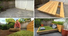 Landscape gardener guru, Jason Hodges from the Australian TV show Better Homes & Gardens, is showing us how to build an amazing outdoor grass daybed. Outdoor Spaces, Outdoor Living, Indoor Outdoor, Outdoor Decor, Outdoor Stuff, Amazing Grass, Outdoor Bean Bag, Outdoor Daybed, Pool Lounge