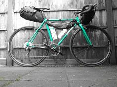 Brothercycles green Kepler with Alpkit