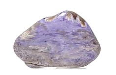 Charoite Violet Purple Feather stone with very by FenderMinerals