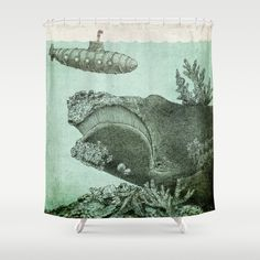 Leviathan  Shower Curtain