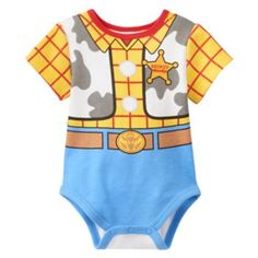 Disney / Pixar Toy Story Woody Bodysuit - Baby Boy