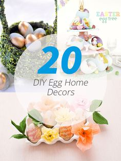 20 DIY Egg Home Decors to Tickle Your Creativity