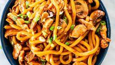 Lemon Garlic Pork Roast - Jo Cooks Chicken Udon Noodles, Hoisin Chicken, Coconut Curry Chicken, Chicken Fajitas, Oven Baked Chicken, Baked Chicken Breast, Roasted Fingerling Potatoes, Jo Cooks, Roasted Mushrooms