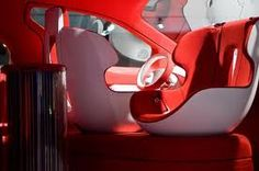 Concept Cool car interior, van at the Autoshow in Toronto, Canada Car Interior Sketch, Car Interior Design, Car Design Sketch, Automotive Design, Car Sketch, Interior Design Renderings, Interior Rendering, Spaceship Interior, Design Your Home