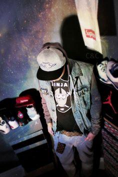 That Ninja hoodie is #Swag