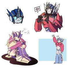 Transformers Optimus Prime, Fantasy Creatures, Chibi, Fan Art, Animation, Robots, Cartoon, Drawings, Artwork