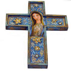 Virgen de Guadalupe Cross