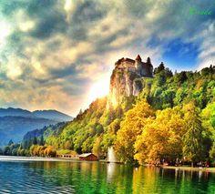 Bled Castle...Slovenia by Nada Leva