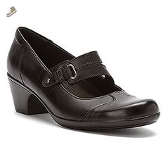 Clarks 66736 Womens Ingalls Siene Shoes, Black�,075W - Clarks sneakers for women (*Amazon Partner-Link)