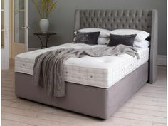 Hypnos Pocket Latex Superb King Size Divan Bed from £1,490.00