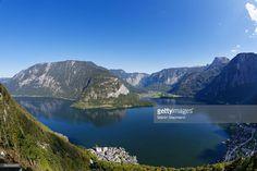 Lake Hallstatt or Hallstatter See, Hallstatt, Salzkammergut, UNESCO. Hallstatt, Seen, World Heritage Sites, Austria, Mountains, Nature, Travel, Photo Illustration, Naturaleza