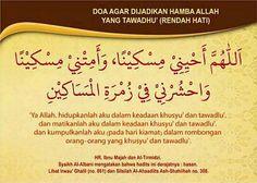 Doa Agar Dijadikan Hamba Allah yang Tawadhu'