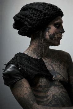 """Rick Genest. Face it, he's way more confident than you ever will be. You might know him as """"Zombie Boy"""" or the guy from Lady Gaga's music video."""
