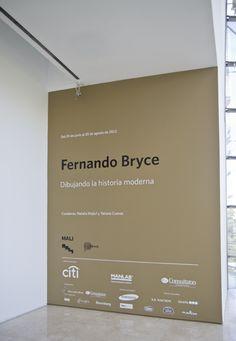 Entrada a la sala. Museo Malba, Buenos Aires