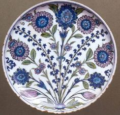 Selcuk And Ottoman Pottery, Shallow Dish, Ashmolean Museum