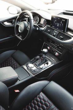 rs6 interior.