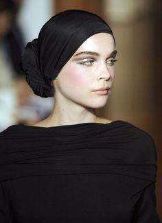 chic minimal style #millinery #turban #judithm