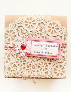 merry christmas xo by debee{art), via Flickr