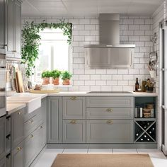Gray Bodbyn discount until Dec! 👍 - Ikea DIY - The best IKEA hacks all in one place Bodbyn Kitchen Grey, Grey Kitchens, Home Kitchens, Mini Kitchen, Ikea Kitchen, Kitchen Dining, Kitchen Cabinets And Backsplash, Grey Kitchen Designs, Pantry Room