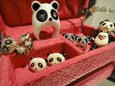 my panda accessory collection