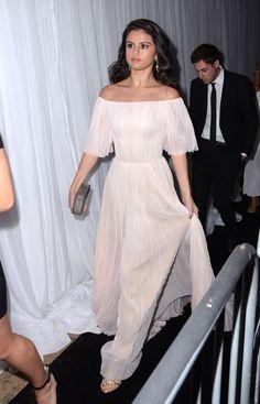 Selena Gomez at Golden Globes