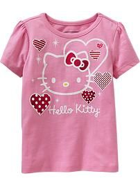 Pink hello kitty tee for baby<3