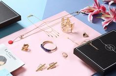 A monthly unique piece of French designer jewelry straight to your door!