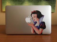 """Snow white macbook air 11"""" 13"""" pro apple sticker vinyl decal #eppobrand"""