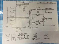 Inverter Welder, Circuit Diagram, Diy Electronics, Gadget, Thailand, Engineering, Tv, Circuits, Projects