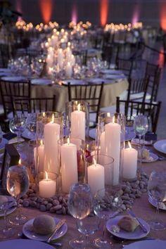 Romantic wedding centerpieces idea 38 #weddingideas