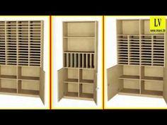 Videos Postfachschrank, Schulmöbel, Büromöbel