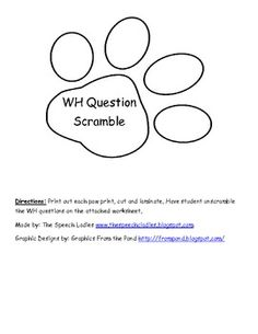 WH Question activity. Unscramble the WH question and write it out. Then answer the question.