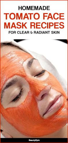 Here are some of the tomato face packs for all the annoying skin problems. These packs clear the skin issues and give a healthy glow to the skin. Tomato For Skin, Tomato Face Mask, Eyeshadow Basics, Best Eyeshadow, Prom Makeup Looks, Fall Makeup Looks, Beauty Tips For Face, Beauty Skin, Beauty Hacks