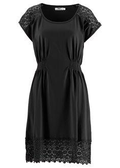 Kısa kollu penye elbise, bpc bonprix collection