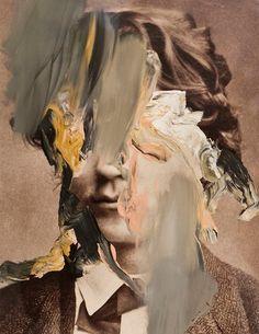 "deadsymmetry: "" Bo Christian Larsson "" I'm not sure why I really love that kind of portrait. Glitch Art, Glitch Kunst, Arte Peculiar, Photocollage, A Level Art, Gcse Art, Rembrandt, Land Art, Op Art"