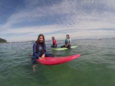 Galicia sol y olas en su mar color verde esmeralda
