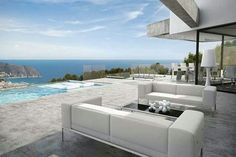 Price: Category: Residential For Sale Property Location: Moraira, Costa Blanca North, ESP, Spain Property Type: Villa Full Description: We will be constructing this villa, a new-build wh… Outdoor Rooms, Outdoor Furniture Sets, Outdoor Living, Dream Home Design, House Design, Interior Architecture, Interior And Exterior, Beautiful Beach Houses, Interior Styling