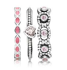 Ring-Upon-Ring | PANDORA Call 208-323-5988 to order yours today! Visit http://www.jewelrymoments.com/ for our blog and more Pandora Jewelry!