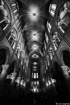 Heaven And Earth By Lynn Langmade Black White Photography The Gothic