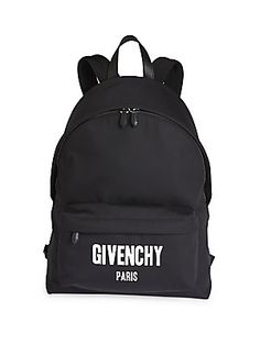 Givenchy Iconic Print Backpack - Black