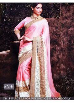 Bollywood Replica - Tamanna Bhatia Designer Pink Saree - SN-6