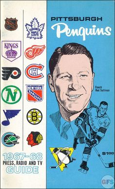 1st Pittsburgh Penguins media guide, 1967
