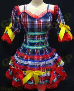 vestidos para festa junina 3